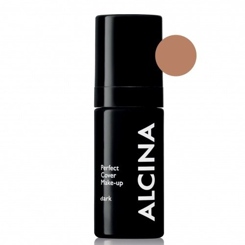 Alcina Perfect Cover Make-Up Dark Ilgai išliekanti kreminė pudra 30ml