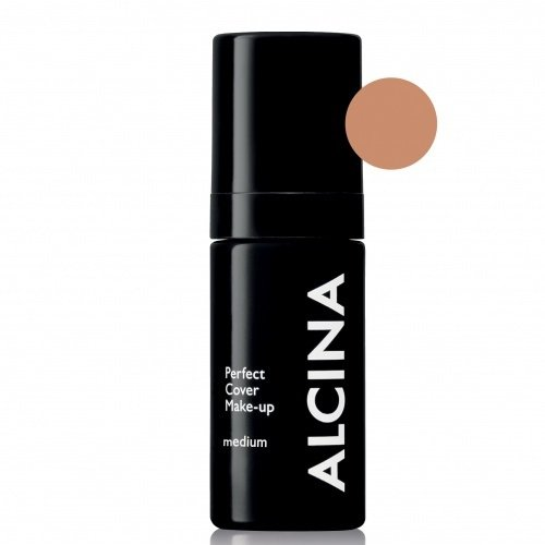 Alcina Perfect Cover Make-Up Medium Ilgai išliekanti kreminė pudra 30ml