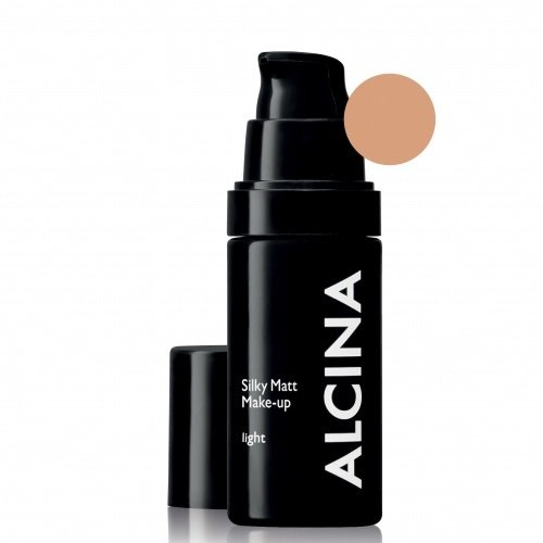 Alcina Silky Matt Make-Up Light Matinė kreminė pudra 30ml