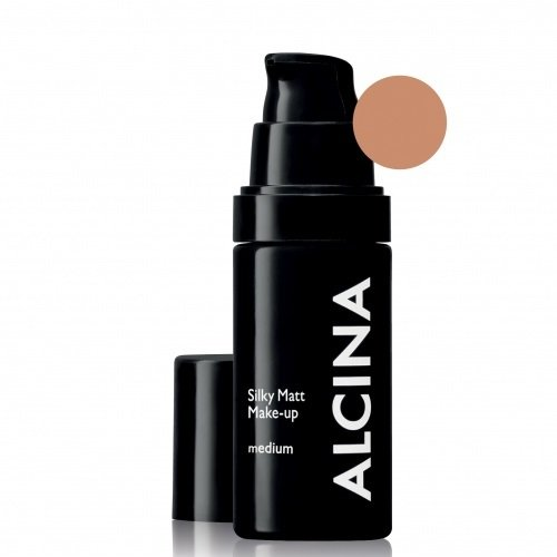 Alcina Silky Matt Make-Up Medium Matinė kreminė pudra 30ml