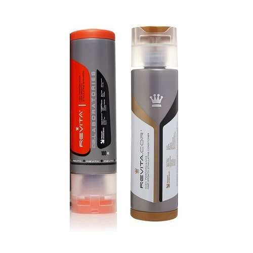 Augimą skatinantis šampūnas ir kondicionierius Revita+Revita.COR