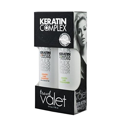 Keratin Complex Care Travel Pack Plaukų priežiūros rinkinys 2x89 ml