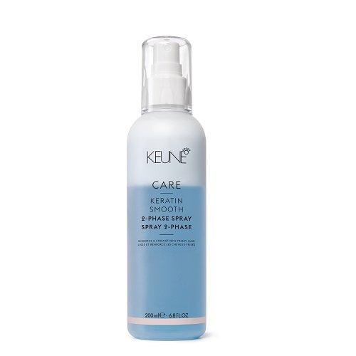 Keune Care Line Keratin Smooth Dvifazis purškiklis plaukams su keratinu 200ml