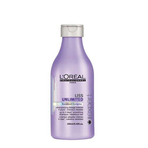 L'Oreal Professionnel Liss Unlimited Nepaklusnių plaukų šampūnas 250ml