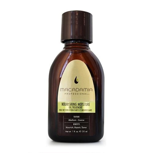 Macadamia Nourishing Moisture Oil Treatment Maitinamasis, drėkinamasis aliejus sausiems plaukams 30 ml