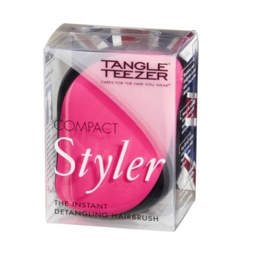 Tangle Teezer Compact Styler šepetys (rožinis)