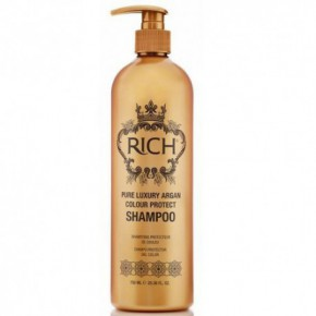 Rich Pure Luxury Argan Colour Protect Dažytų plaukų šampūnas 750ml