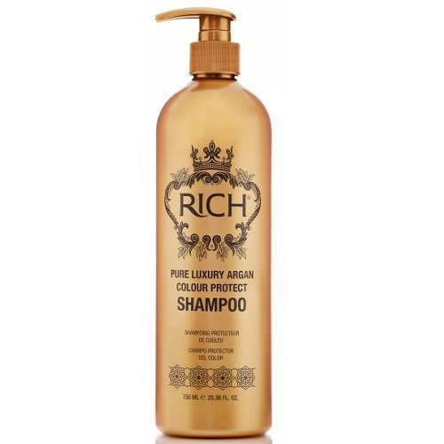 Rich Pure Luxury Argan Colour Protect Dažytų plaukų šampūnas 250ml
