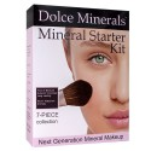 Dolce Minerals Mineral Starter Kit 7 Makiažo priemonių rinkinys MATTE