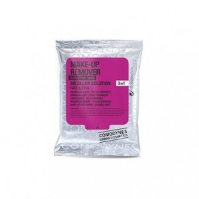 Comodynes Make-Up Remover Sensitive Skin Makiažo valymo servetėlės su miceliniu vandeniu jautriai odai 10vnt