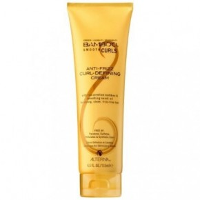 Alterna Bamboo Smooth Anti-Frizz Curl-Defining Cream Kremas garbanotiems plaukams 133ml
