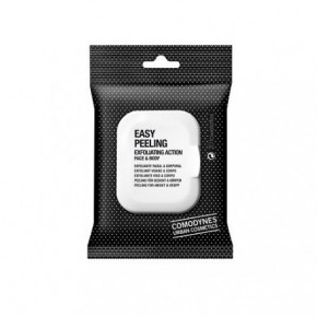 Comodynes Easy Peeling Exfoliating Action Face & Body Šveičiamosios veido ir kūno servetėlės 20vnt