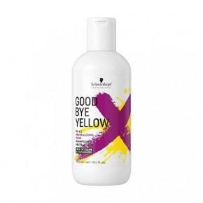 Schwarzkopf Goodbye Yellow Spalvą neutralizuojantis šampūnas 300ml