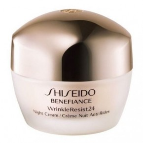 Shiseido Benefiance WrinkleResist24 Night Cream Drėkinamasis naktinis kremas 50ml