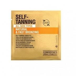 Comodynes Self - Tanning Natūralios spalvos savaiminio įdegio servetėlės 8vnt