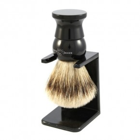 Badger Shaving Brush With Stand Skutimosi šepetėlis su stovu