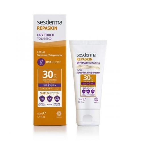 Sesderma Repaskin Sunscreen Facial SPF 30 Dry Touch Apsauginis kremas nuo saulės veidui 50ml