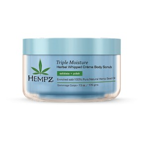 Triple Moisture Herbal Whipped Creme Body Scrub Kūno šveitiklis