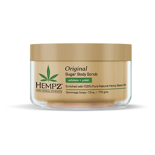 Hempz Original Herbal Sugar Body Scrub Kūno šveitiklis 176ml