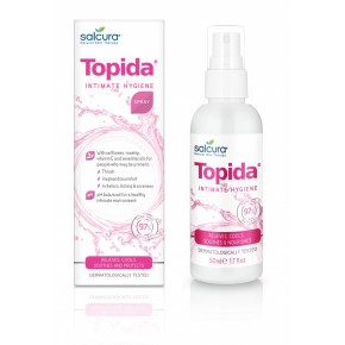 Topida Intimate Hygiene Spray Priešgrybelinė purškiama priemonė