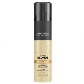 Sheer Blonde Crystal Clear Hairspray Šviesių plaukų lakas