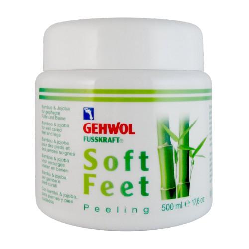 Gehwol Fusskraft Soft Feet Scrub Šveičiamasis kojų kremas su bambukų pudra 125ml