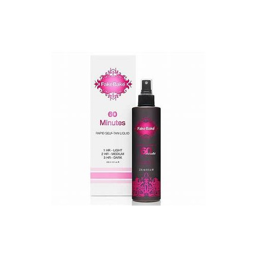 Fake Bake 60 Minutes Self-tan Liquid 60 minutes Savaiminio įdegio skystis 236ml