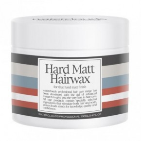 Waterclouds Hard Matt hair wax 100ml