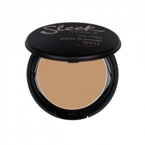 Sleek MakeUP Sleek Makeup Creme To Powder Foundation kreminė kompaktinė pudra (Spalva - Barley) 9g
