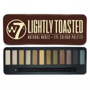 W7 Cosmetics W7 Akių šešėlių paletė Lightly Toasted