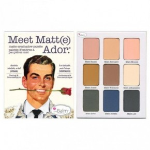 theBalm Meet Matt(e) Eyeshadow Palette Akių šešėlių rinkinys 21.6g