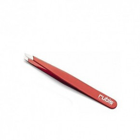 Rubis Slanted Tweezer Red Slanted Tip 130 Pincetas antakiams