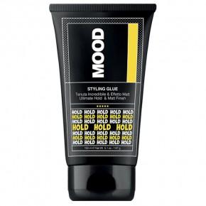 Mood Gel Glue Stiprios fiksacijos plaukų modeliavimo klijai 150ml