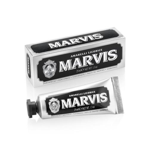 MARVIS Amarelli Licorice Saldymedžio ir mėtų skonio dantų pasta 25ml