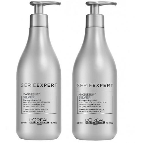 L'Oréal Professionnel Serie Expert Silver Atspalvį koreguojantis šampūnas 1500ml