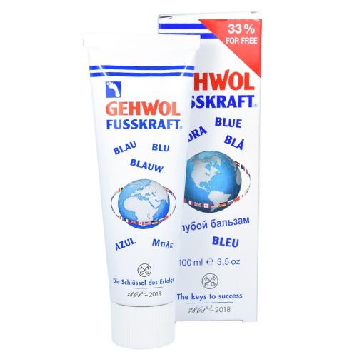 Gehwol Fusskraft Blue Kremas sausai ir šiurkščiai kojų odai 75ml