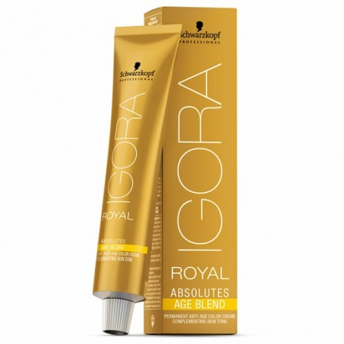 Schwarzkopf Igora Royal Absolutes Age Blend Permanent Color Creme Plaukų dažai 60ml