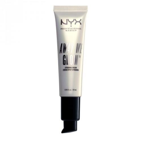 NYX Professional Makeup Away We Glow Strobing Cream Švytėjimo suteikiantis kremas