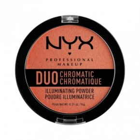 NYX Professional Makeup Duo Chromatic Illuminating Powder Švytėjimo suteikianti pudra 6g