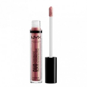 NYX Professional Makeup Duo Chromatic Lip Gloss Lūpų blizgis 2.4g
