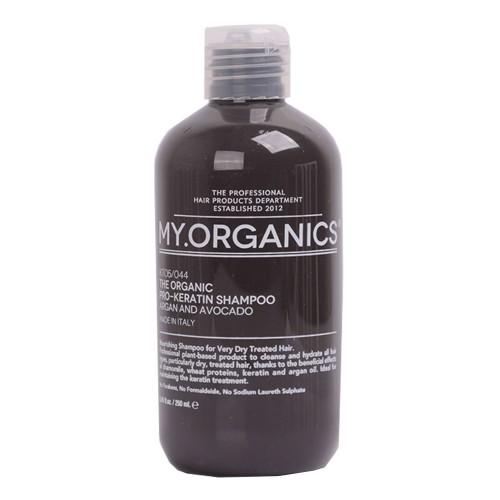 My.Organics The Oganic Pro-keratin shampoo Plaukų šampūnas su arganu ir avokadu 250ml