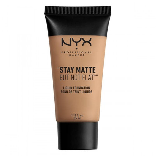 NYX Professional Makeup Stay Matte Not Flat Liquid Foundation Makiažo pagrindas 35ml