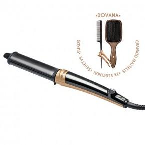HH Simonsen Rod VS11 Gold Limited Edition Plaukų grabanojimo įrankis + dovana
