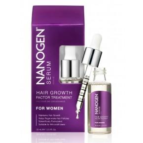 Nanogen Hair Growth Factor Treatment Plaukų augimą skatinantis serumas moterims 30ml