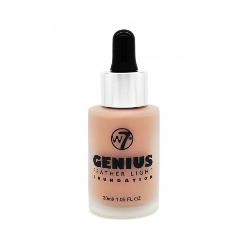 W7 Cosmetics W7 Genius Foundation makiažo pagrindas 30ml
