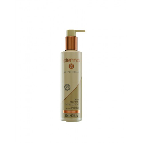Sienna X Deep Self Tan Lotion Savaiminio įdegio losjonas 200ml
