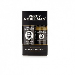 Percy Nobleman Beard Starter Kit Beard Oil + Beard Wash