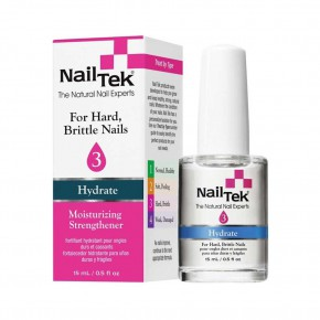Nail Tek Protection Plus III Nagų stipriklis 15ml