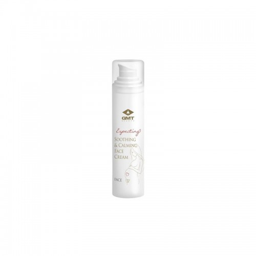 GMT BEAUTY Expecting Soothing & Calming Face Cream Minkštinantis, raminantis veido kremas 50ml