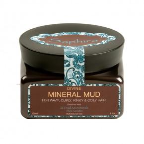 Saphira Divine Mineral Mud Intensyviai drėkinantis mineralinis purvas plaukams 250ml